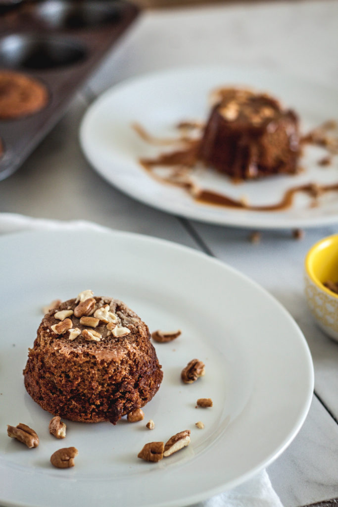 The figs, brown sugar and butter in this English sticky toffee pudding makes the perfect combination. This treat will satisfy any sweet tooth!   wanderzestblog.com