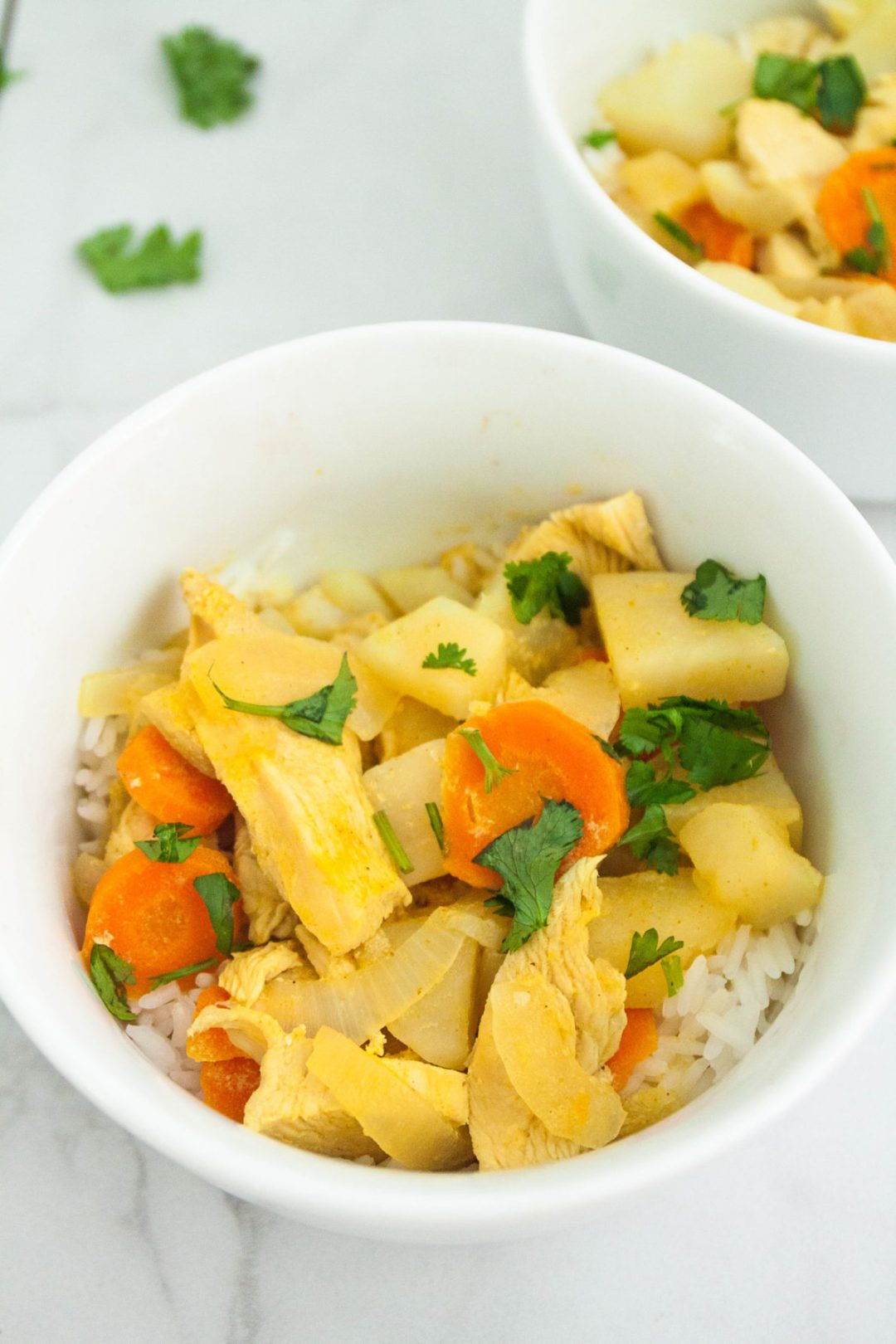 Yellow Thai Curry is a glorious combination of flavors and textures. Veggies, coconut milk, and curry paste help to create the ultimate comfort food dish.