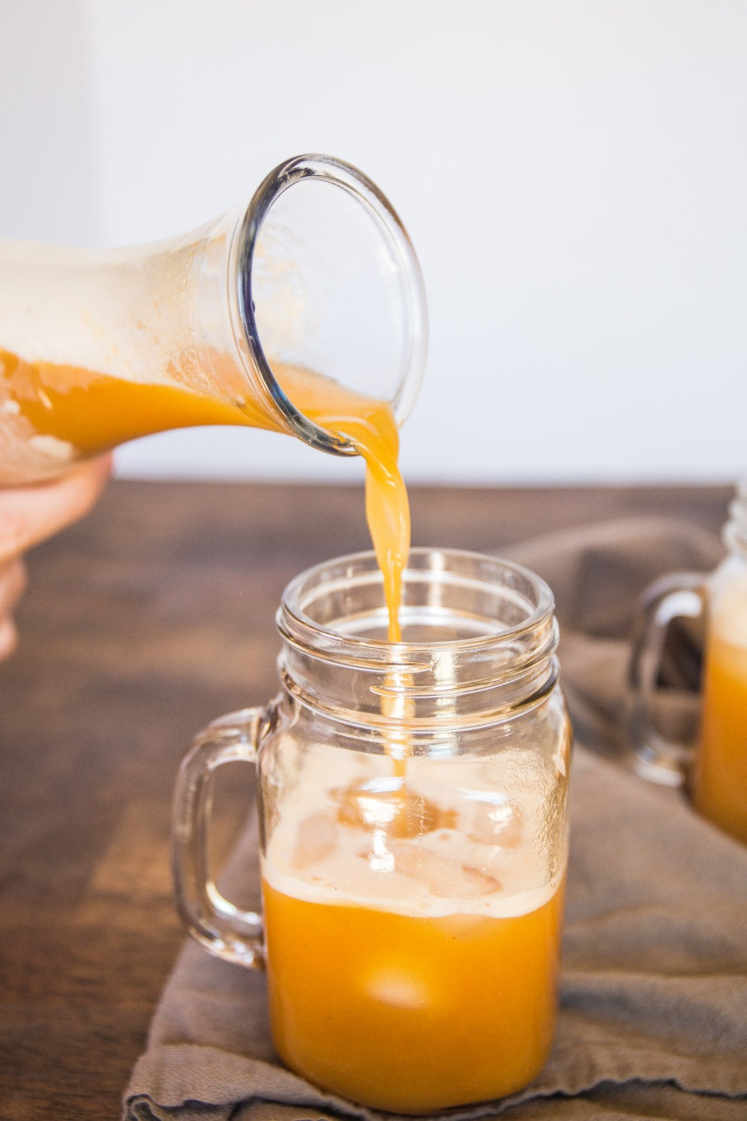 This Harry Potter inspired Pumpkin Juice is the perfect drink to serve at a Halloween party or any gathering. Reminiscent of the holidays, this drink has a unique taste unlike any other.
