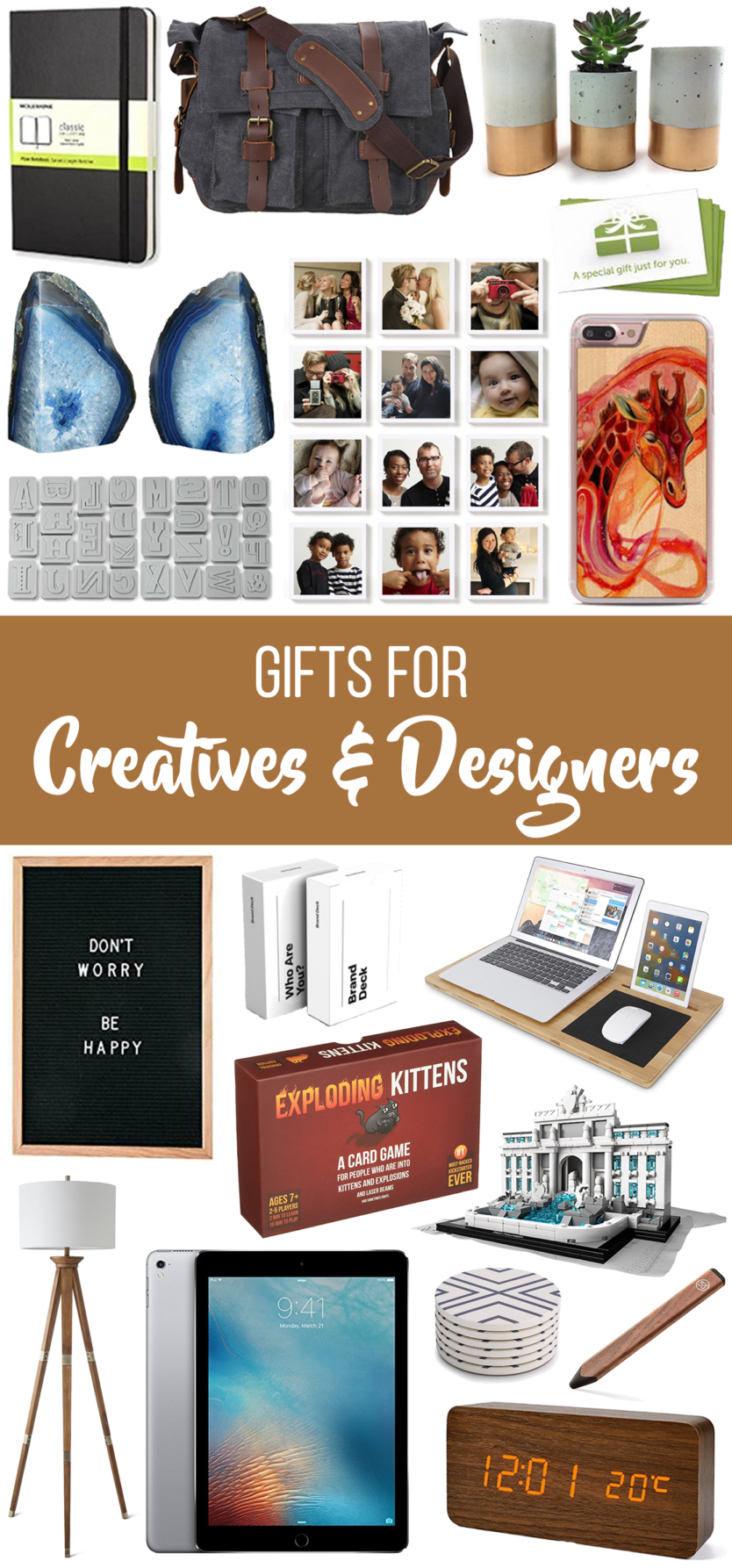 We all know that Christmas shopping can be overwhelming, but these holiday gift guides should help make the job just a little bit easier.