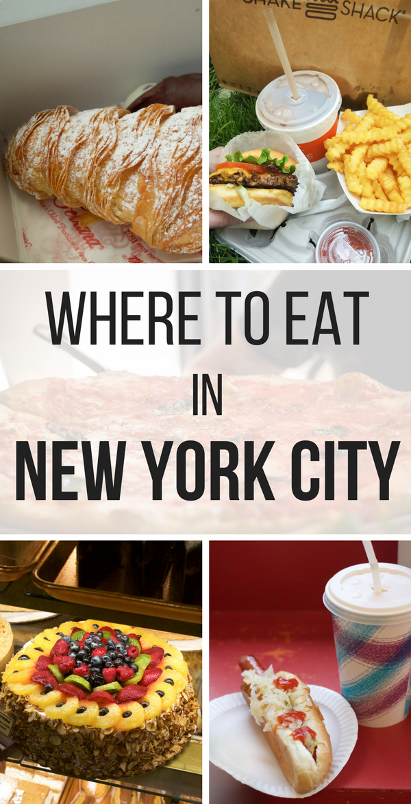 If you are heading to the Big Apple, you have to try these 5 of the best places to eat in New York City. You can't go wrong with any of these restaurants!