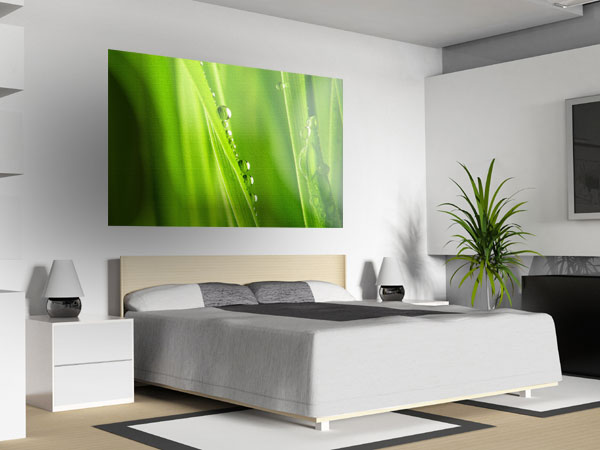 wandfarbe grun farbideen wandgestaltung muster wohnzimmer - boisholz - Wohnzimmer Farben Beispiele Grun