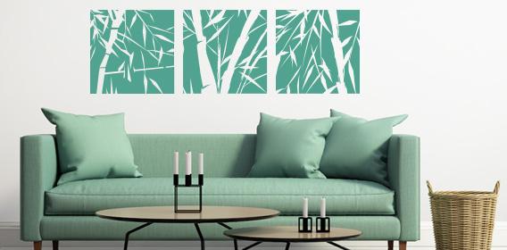 Wandtattoo Pflanzen fr Euer Wohnzimmer