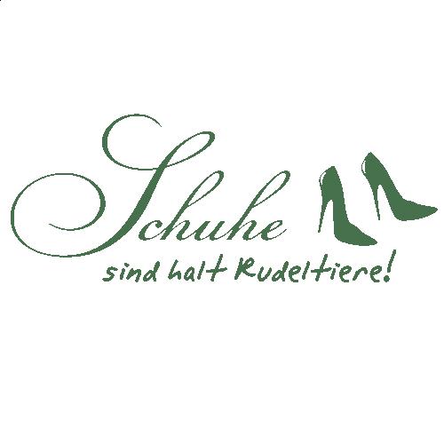 WANDKINGS Wandtattoo Schuhe sind halt Rudeltiere Gre  Farbe whlbar  eBay