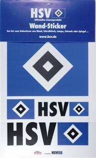 Wandtattoo HSV als Logo Skyline oder Maskottchen