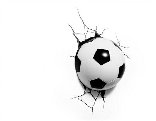 Wandtattoo Fuball Wandleuchte  Fussballvereine und