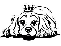 Ausmalbilder Prinzessin Und Hund Ausmalbilder Hunde Und Babyhunde
