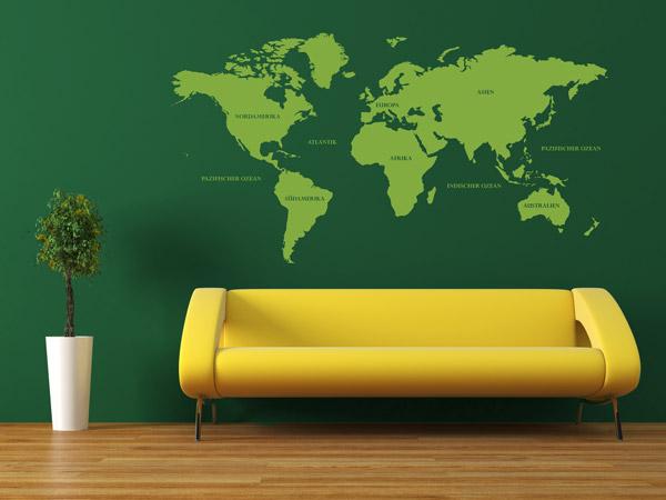 Color Blocking  An der Wand und in der Wohnung  Einrichtungsideen