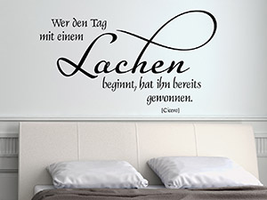 Wandtattoo Zitate und kreative Wandsprche  WANDTATTOODE