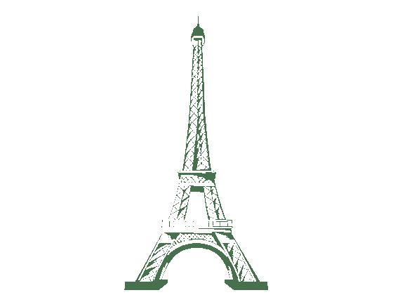 Wandtattoo Eiffelturm Paris Wahrzeichen  WANDTATTOODE