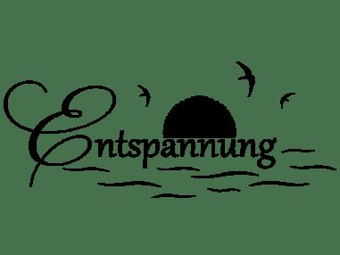 Wandtattoo Entspannung Erholung mit Vögeln | WANDTATTOO.DE