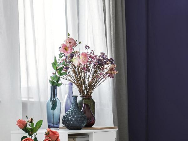 Violette Wnde und Dekoration  Ideen  Tipps von Wandtattoode