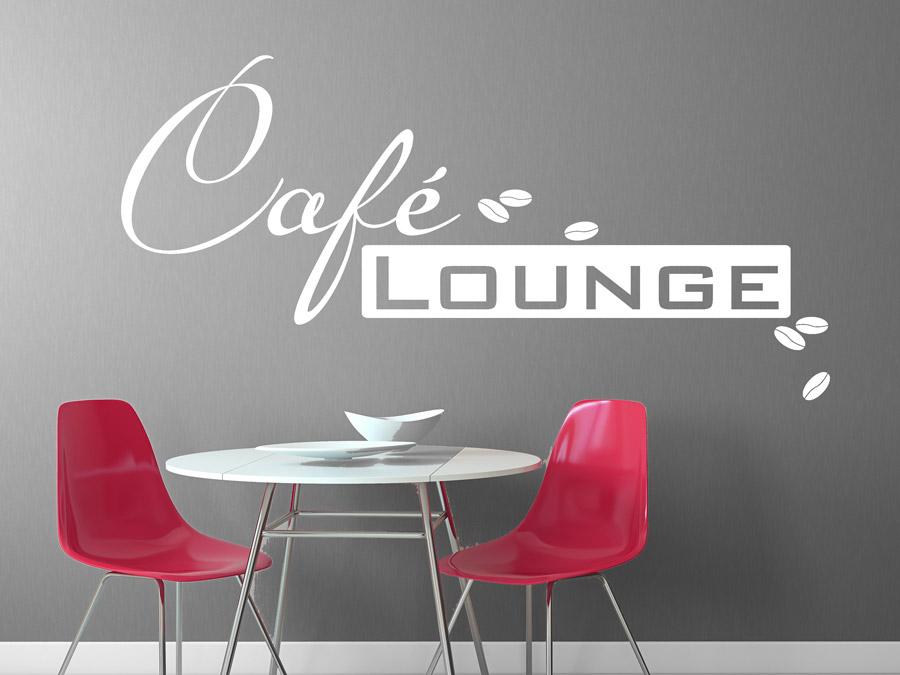 Wandtattoo im Caf  Tipps  Ideen fr die Dekoration