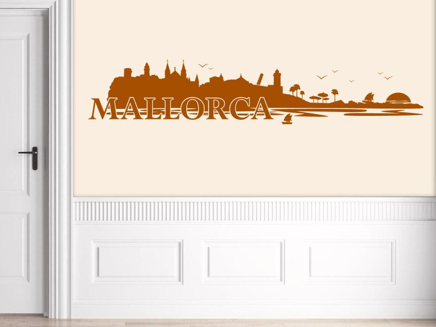 Mallorca Landschaft Wandtattoo Mallorca von Wandtattoonet