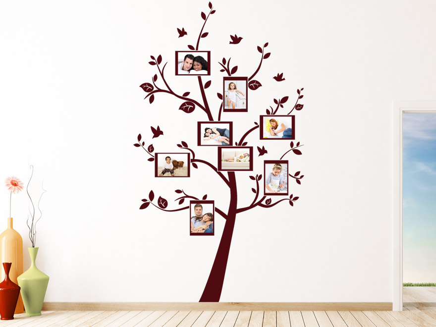 Baum Wandtattoo Foto Baum von Wandtattoonet