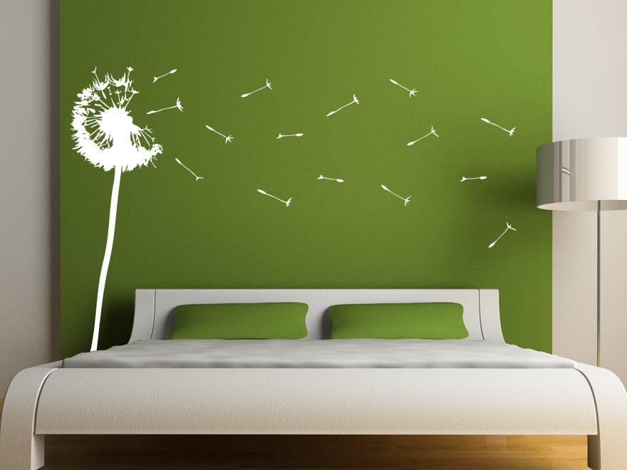 Wandtattoo Stilisierte Pusteblume von Wandtattoonet