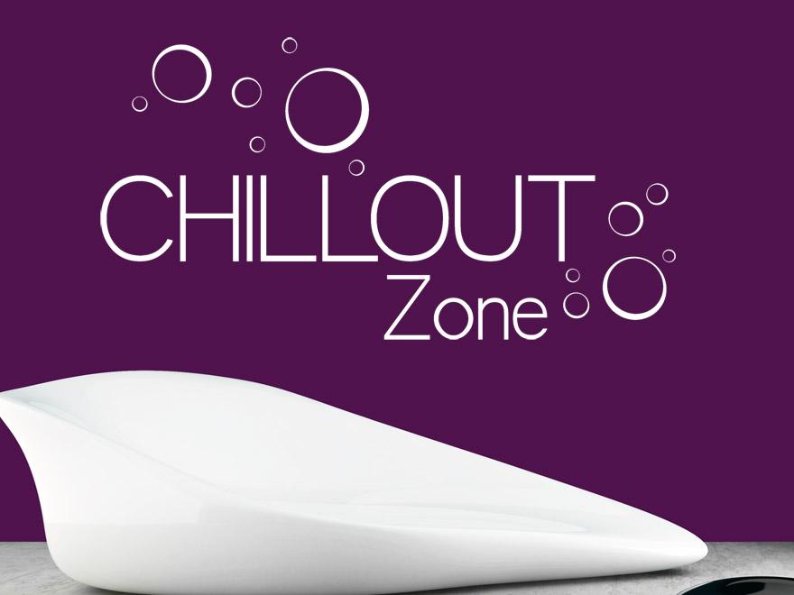 Wandtattoo Chillout Zone von Wandtattoonet
