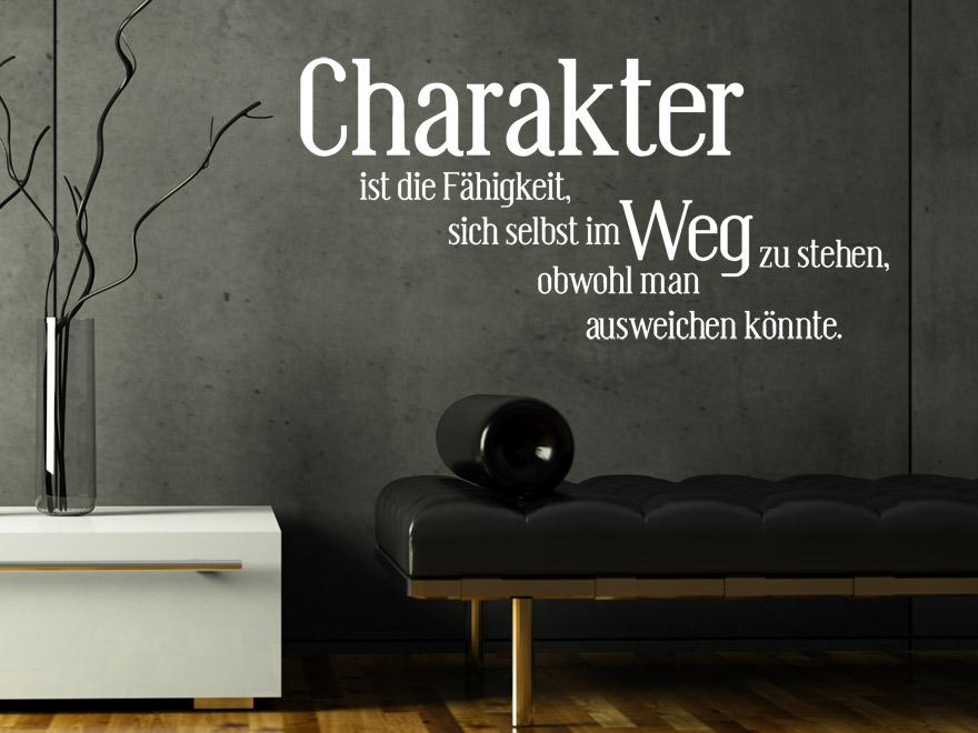 Lustiges Wandtattoo Charakter Sprichwort von Wandtattoonet