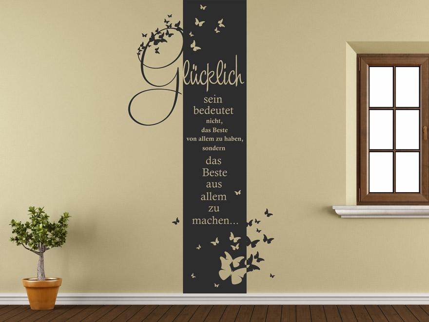 S Products Banner Spruch Banner Gluecklich L