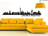 Wandtattoo Dortmund Skyline von Wandtattoo.net
