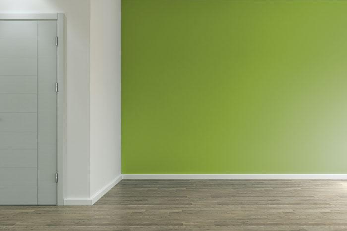 Wand bunt streichen  Ideen fr farbige Wnde  so wirken