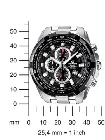 Casio Herren Armbanduhr Edifice Chronograph Quarz Ef-539D