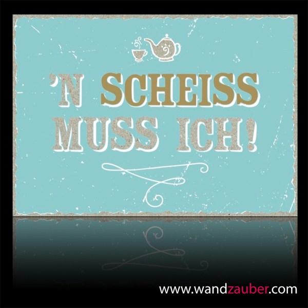 wandzauber-postkarte-happy-life-n-scheiss-muss-ich