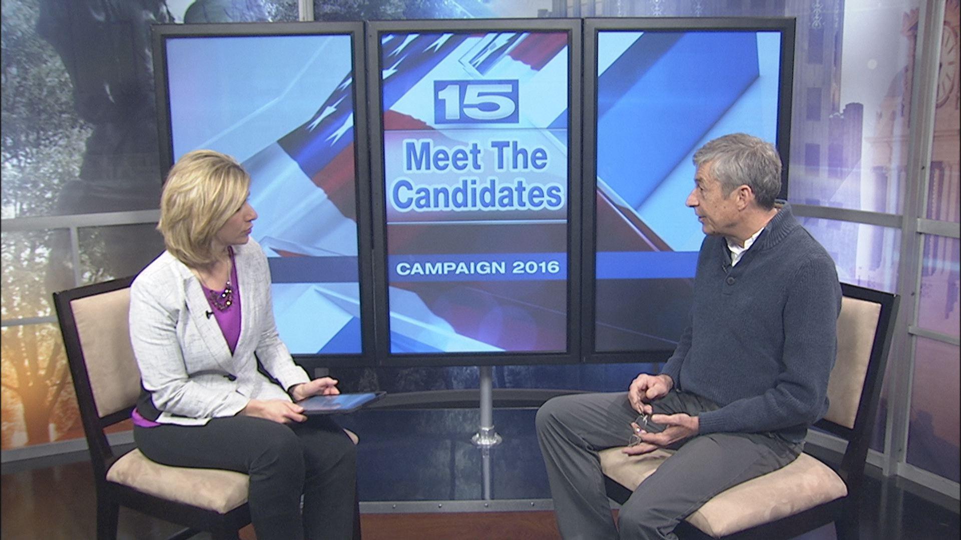 Meet The Candidates Mark Baringer