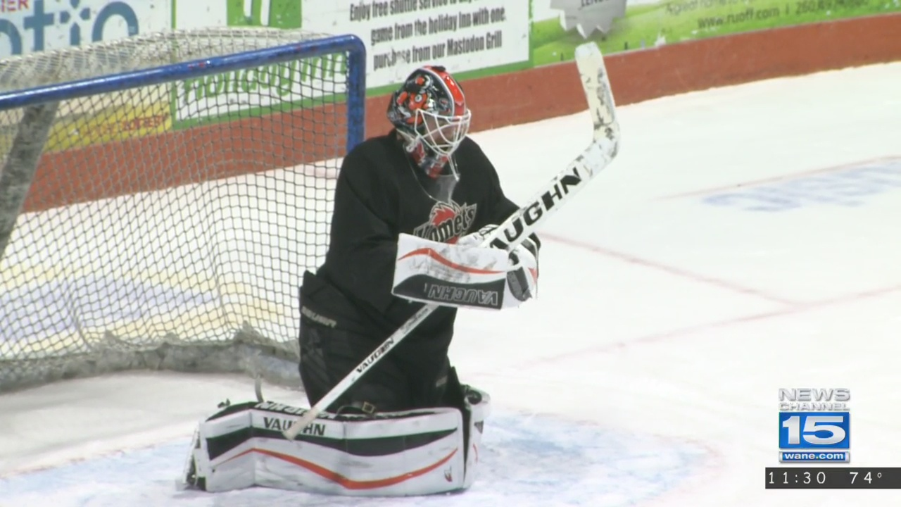 Former Komets goalie Pat Nagle signs with Grand Rapids