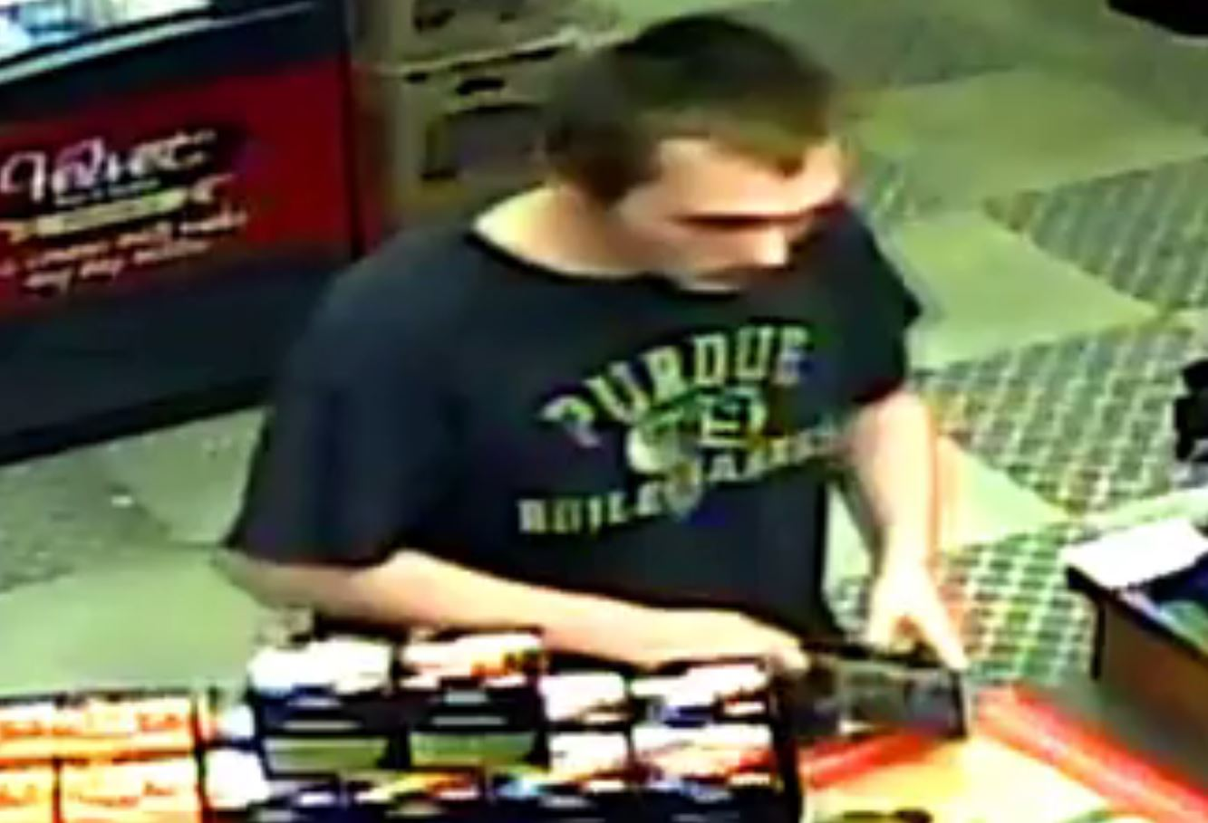 Surveillance Cam Shows Man Steal From Vet Donation Fund