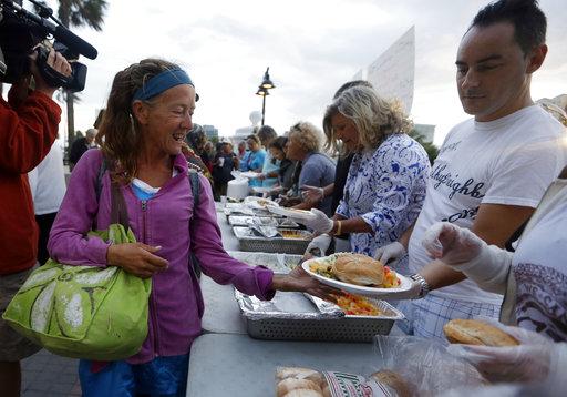 Homeless Feeding Fight_303621
