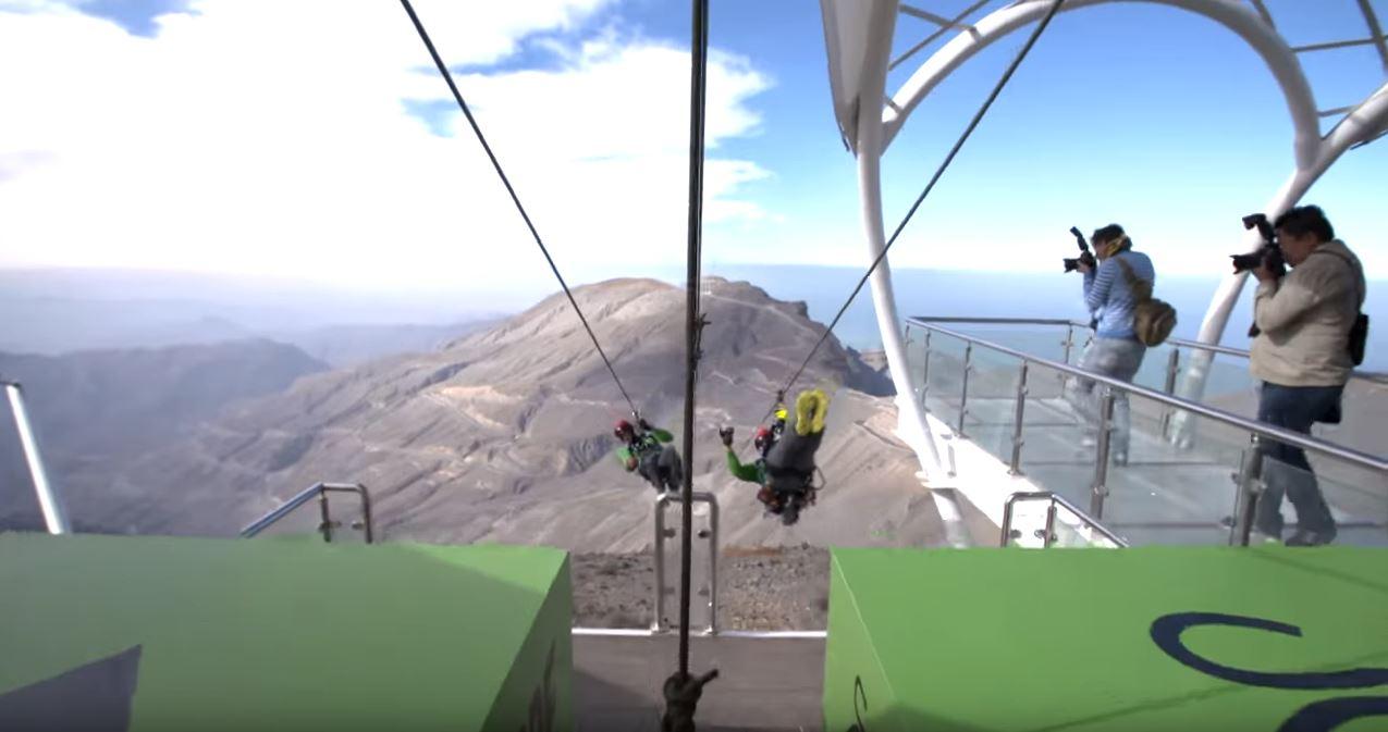 Jebel Jais Flight zip line_311100