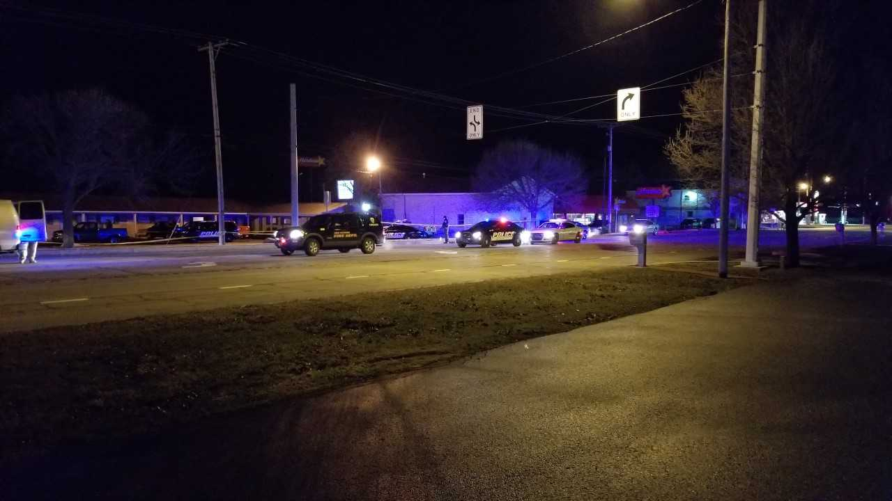 North Manchester police shooting