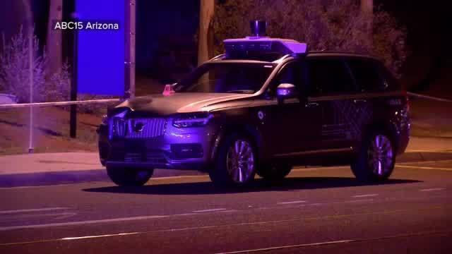 Uber Self-Driving Car Kills Pedestrian
