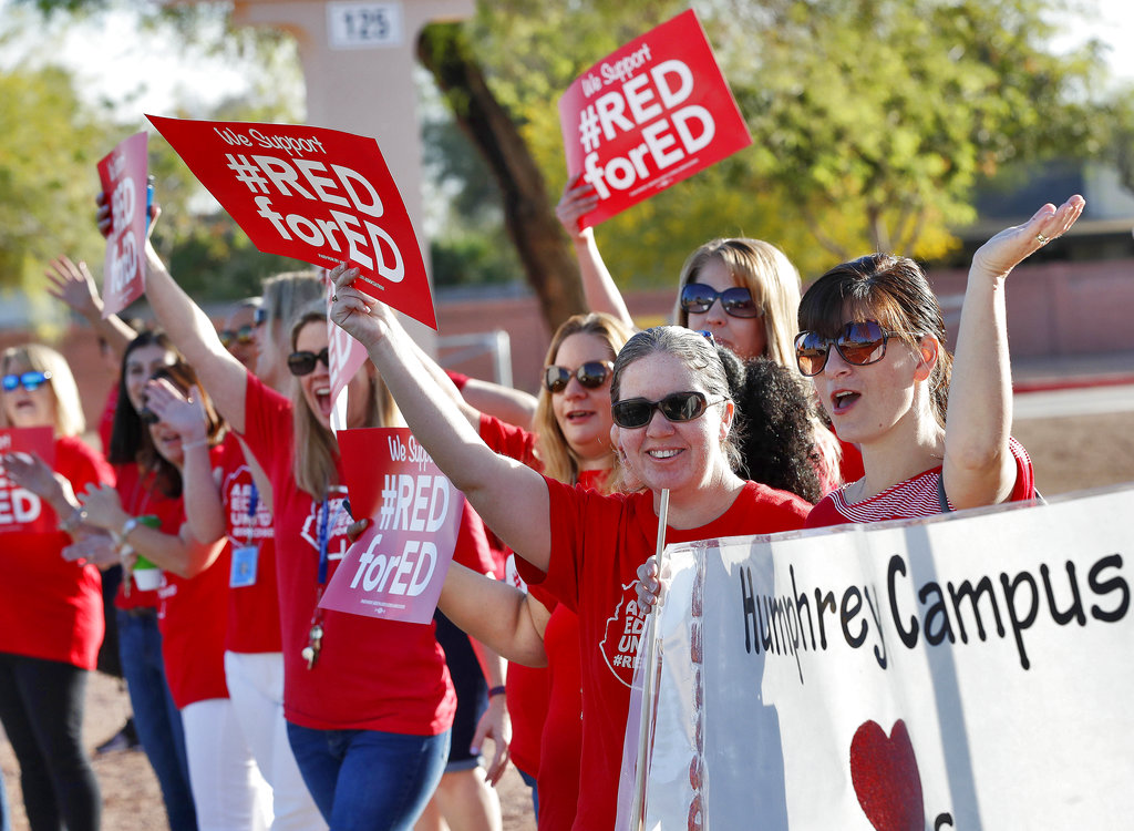 Arizona Teachers Protests