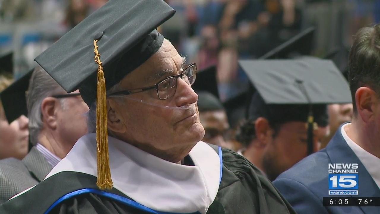 Bob Heiny receives honorary degree