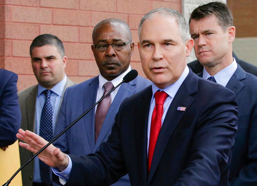 Pruitt EPA Resignations