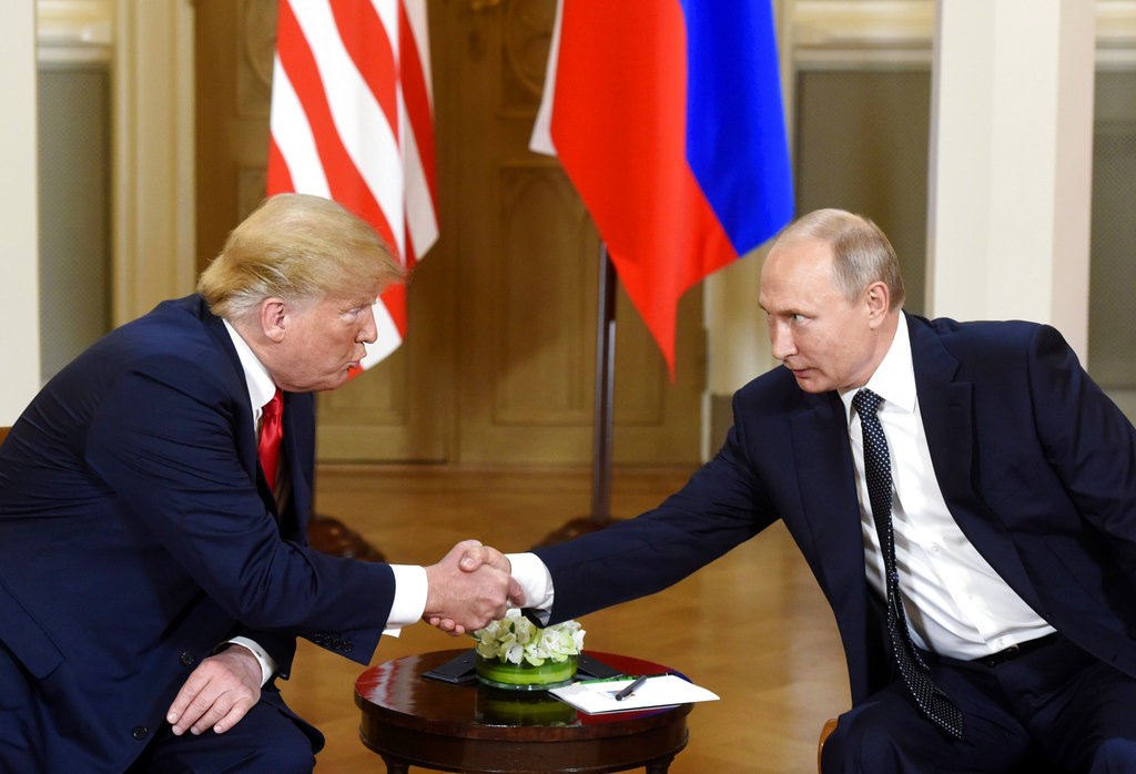 Finland Trump Putin Summit