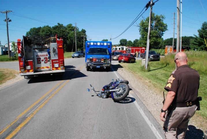 Kosciusko County motorcycle crash