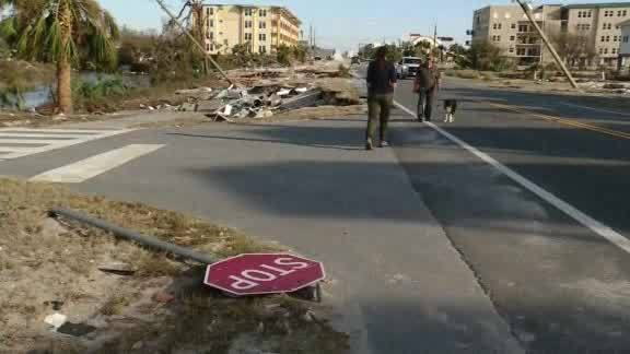 Damage from Michael - Mexico Beach