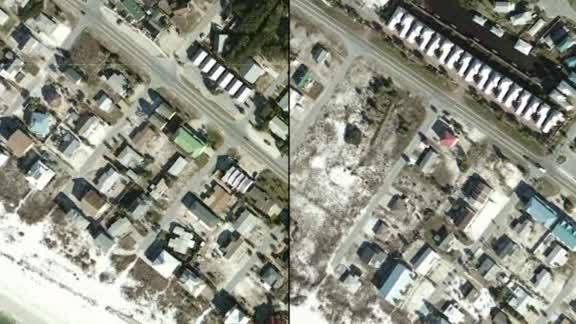 Mexico Beach before and after pictures