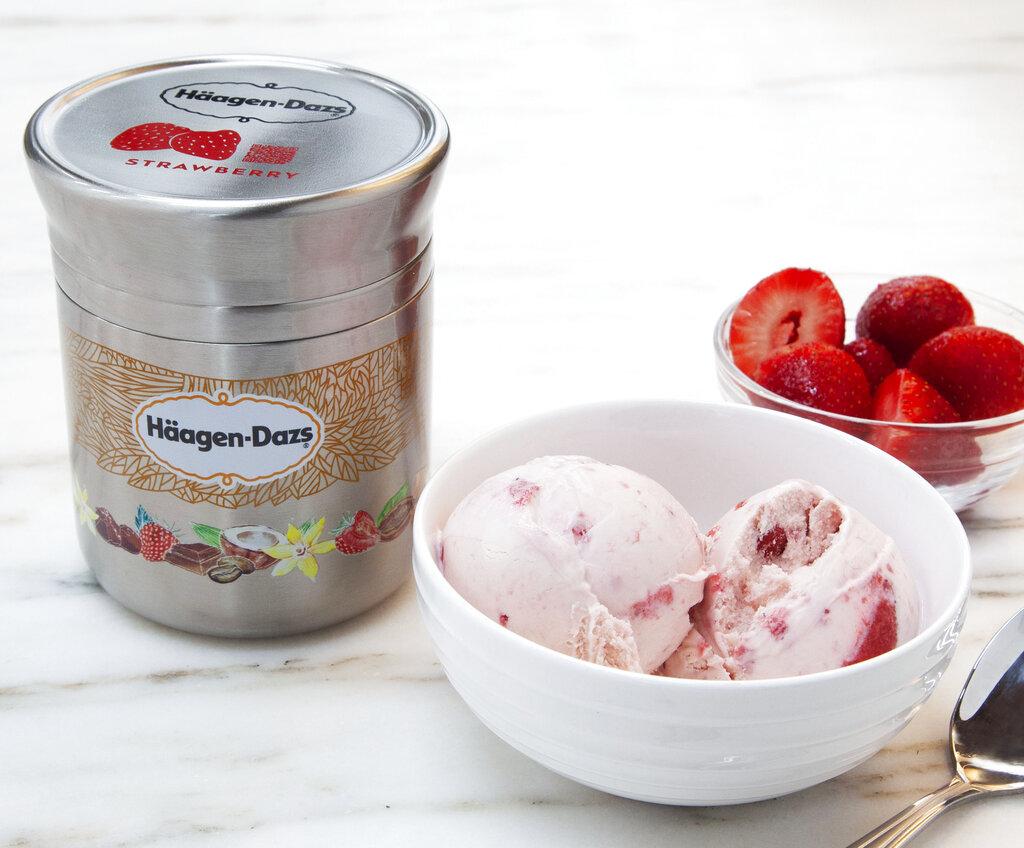 Homes Project Loop Haagan Dazs ice cream