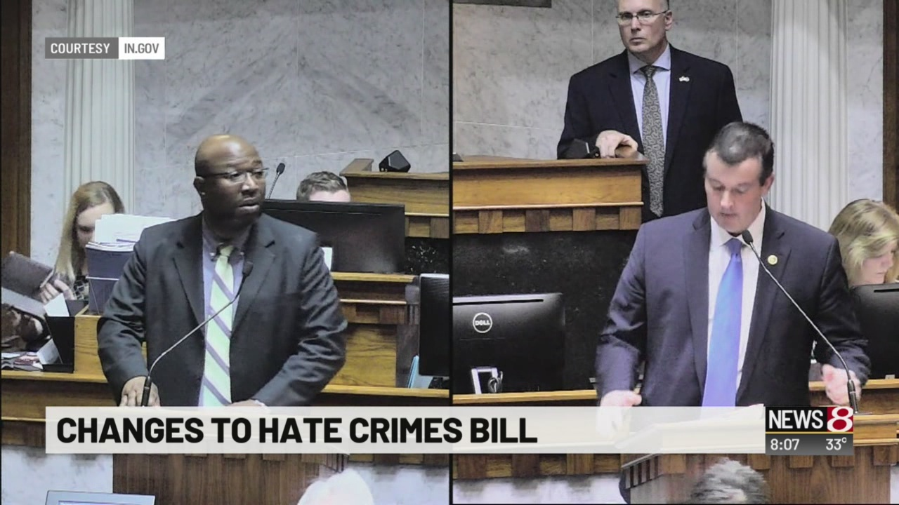 Changes to hate crimes bill