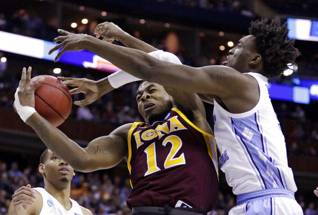 NCAA North Carolina Iona Basketball_1553345946415
