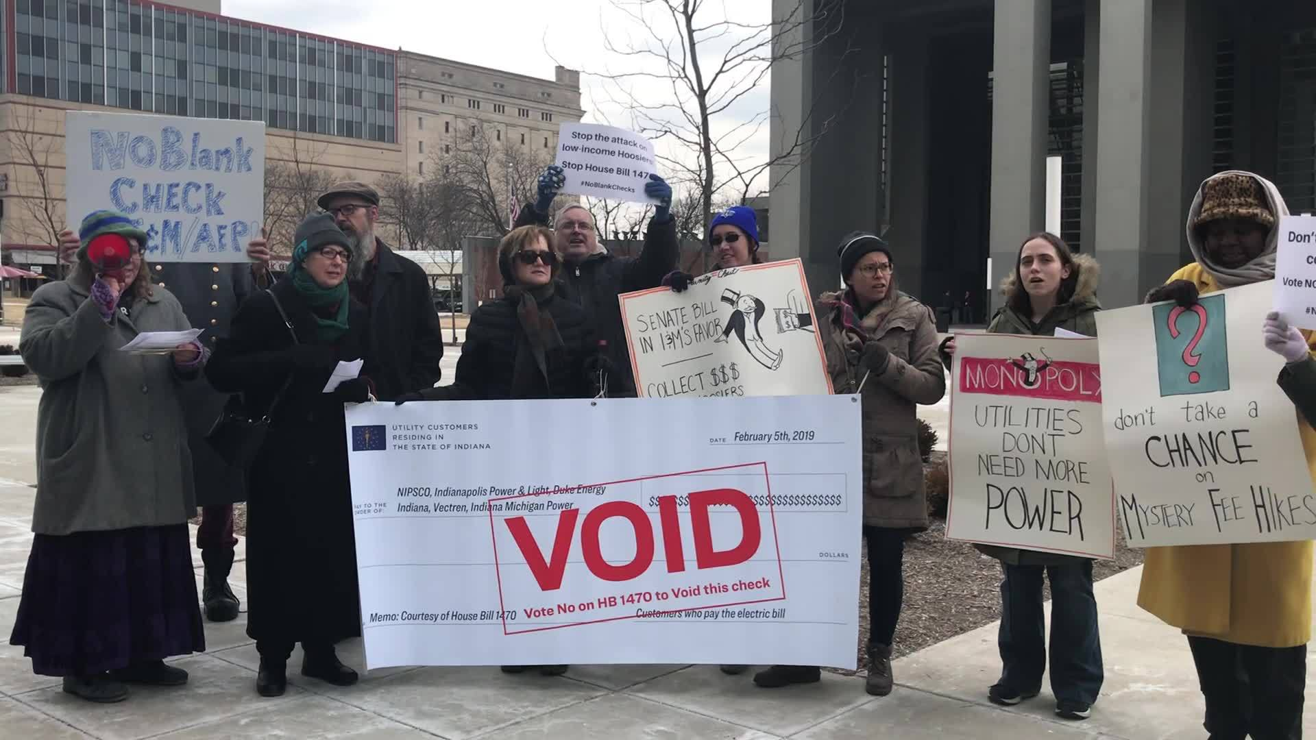 Bill on utility regulations sparks protest