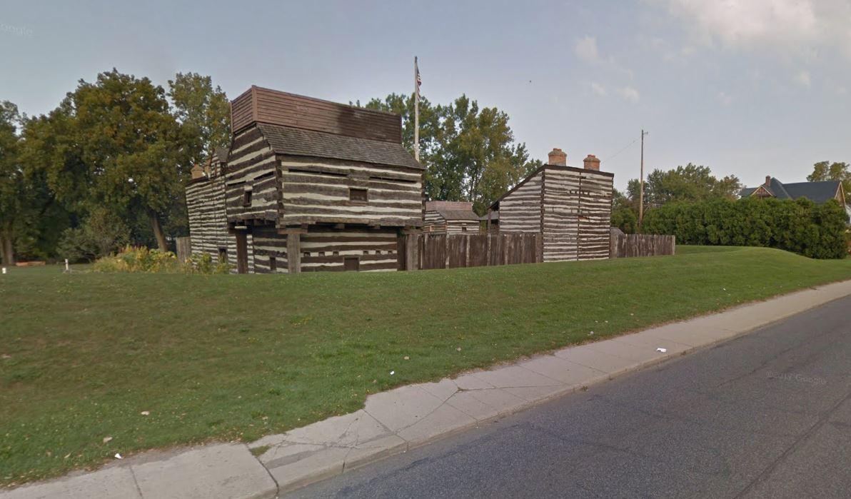 Old Fort Spy Run Avenue blockhouse_305126