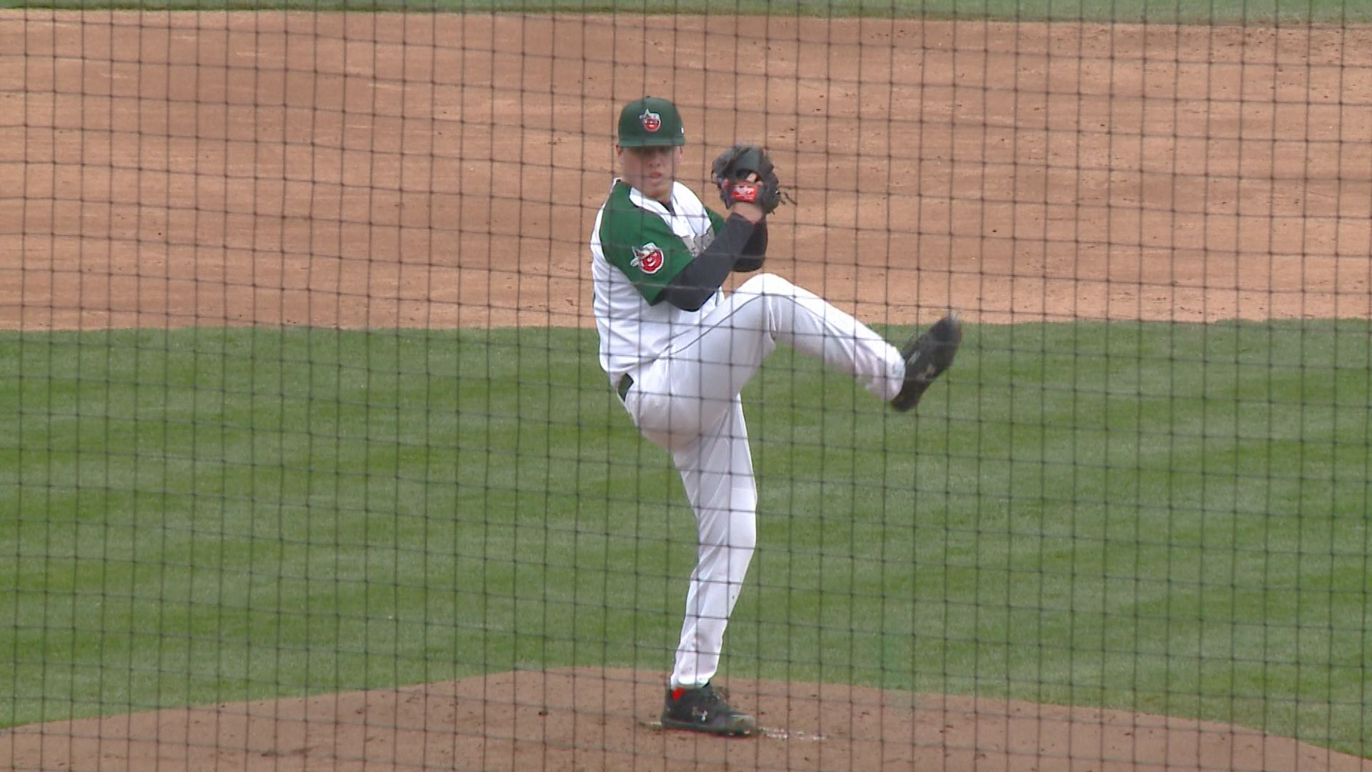 ryan weathers tincaps pitching