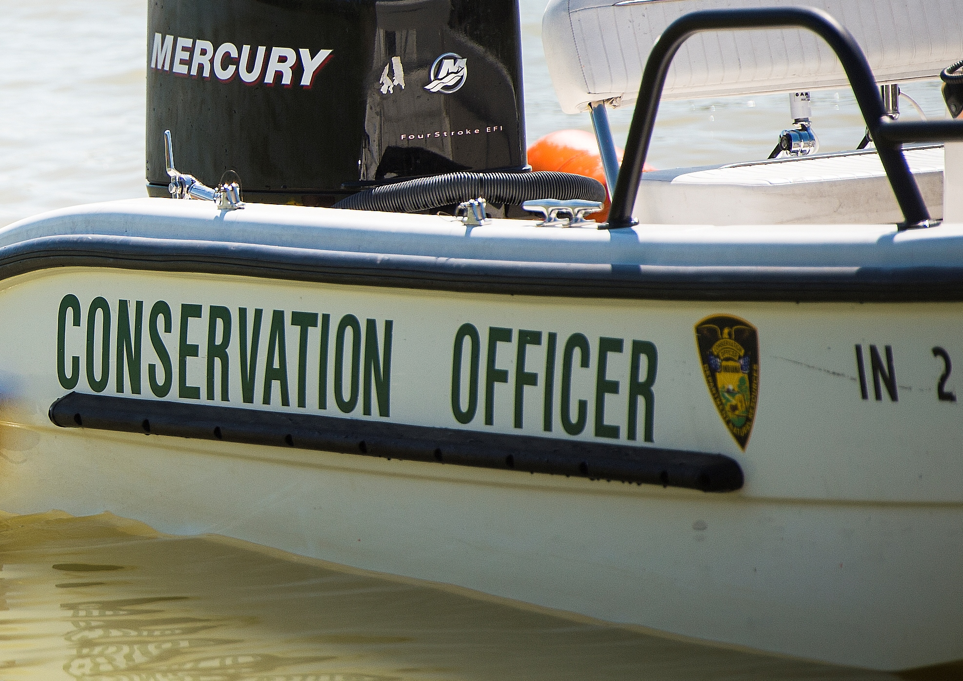 Conservation officer boat DNR