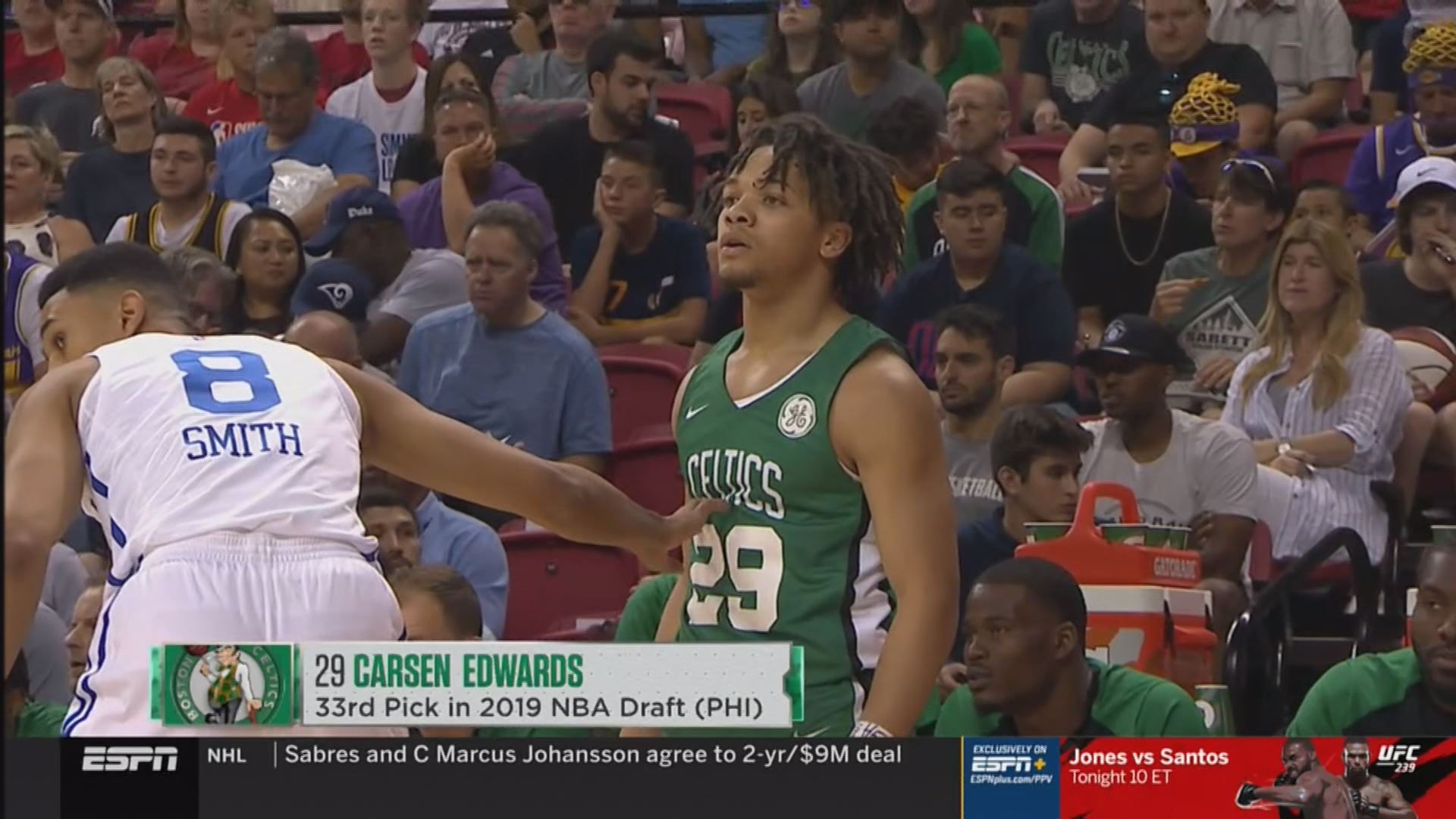 Edwards Scores 20 Points For Celtics In Nba Summer League Debut Wane