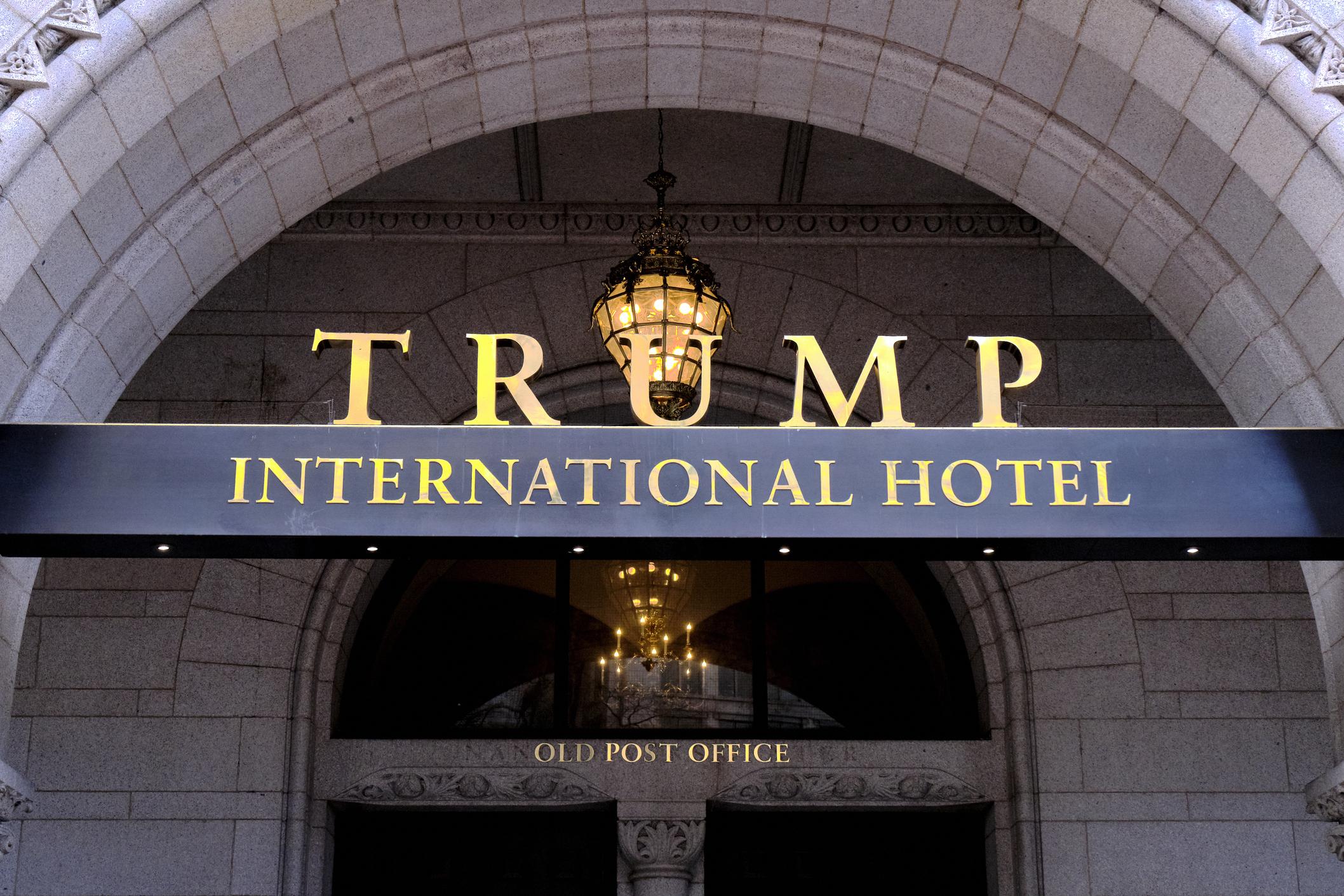 Appeals Court Pauses Lawsuit Over Trump Hotel Profits